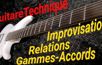 Improvisation : les relations gammes-accords
