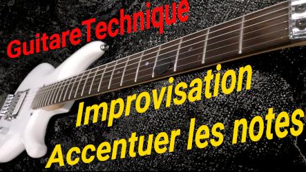 L'improvisation : accentuation pour donner du relief à votre récit